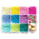 Perle rondelle Heishi 3 mm Mix couleurs Pop + Accessoires