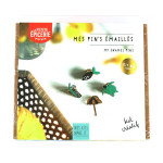 Mes Kit Make It Mes pin's émaillés kit or