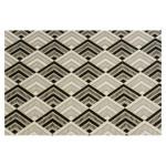 Papier indien 50 x 70 cm 120 g/m² Niche Noir Blanc & Or