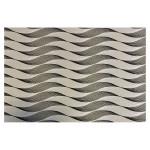 Papier indien 50 x 70 cm 120 g/m² Dune Noir Blanc & Or