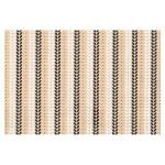 Papier kraft indien 50 x 70 cm 100 g/m² Noir Blanc & Doré