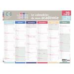 Calendrier 2020-2021 Mon académie Zone C
