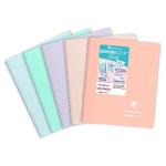 Cahier 14,8 x 21 cm ligné 160p Reliure intégrale Koverbook Blush