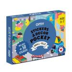 Coffret stickers et decor pocket Petite ville