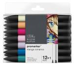 Marqueur Promarker Set Romance manga 13 pcs
