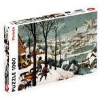 Puzzle Chasseurs dans la neige Brueghel 1000 pièces