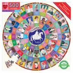 Puzzle rond Votes des femmes 500 pièces