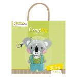 Peluche à coudre Porte-clés Mini Couz'in Riley le Koala