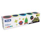 Pâte à modeler souple Neon Soft Dough 5 pots 142 g