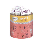 Encreur et 36 tampons Stampo Scrap Love Summer